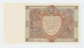 Poland 50 Zlotych 1929 AUNC CRISP Banknote P 71 - Poland