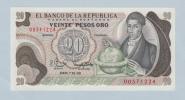 COLOMBIA 20 PESOS 1981 UNC P 409d 409 D - Colombia