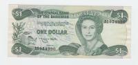 Bahamas 1 Dollar 1974 (1984) XF CRISP Banknote P 43b 43 B - Bahamas