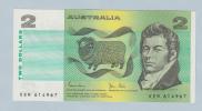 Australia 2 Dollar 1983 AUNC CRISP Banknote P 43d 43 D - 1974-94 Australia Reserve Bank