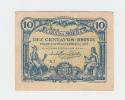 Portugal 10 Centavos 1917 VF Clean Banknote P 95c 95 C - Portogallo