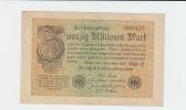 Germany 20 Million Mark 1923 VF P 108 - 20 Millionen Mark