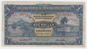 Trinidad & Tobago1 Dollar 1942 VF CRISP Banknote P 5c 5 C - Trinidad & Tobago