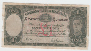 Australia 1 Pound 1938 G-VG Rare Banknote P 26a 26 A - Pre-decimaal Stelsel Overheidsuitgave 1913-1965