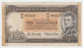 Australia 10 Shillings 1961-65 VF RARE Banknote P 33 - Pre-decimal Government Issues 1913-1965