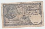 Belgium BELGIQUE 5 Francs 1931 VG P 97b 97 B - [ 2] 1831-... : Regno Del Belgio