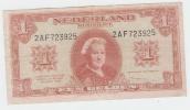 Netherlands 1 Gulden 1945 VF P 70 - [2] 1815-… : Kingdom Of The Netherlands