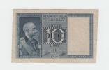 ITALY 10 Lire 1939 VF+ P 25c 25 C - [ 1] …-1946 : Koninkrijk