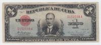 Cuba 1 Peso 1934 VF P 69a 69 A (No PayPal For This Item) - Cuba