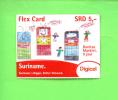 SURINAM - Remote Phonecard As Scan