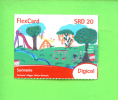 SURINAM - Remote Phonecard As Scan - Suriname