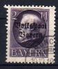 "Bayern  ""VOLKSSTAAT""     Mi.  129 I  O/used    Siehe Bild - Bayern"