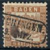 Allemagne Bade (1862) N 19 Obt - Baden