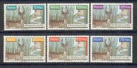 Guinea Guinee 1961 - Michel Nr. 71 - 76 * - Guinea (1958-...)
