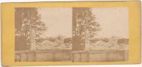 PHOTO STEREO ANCIENNE ARIANE ABANDONNEE STATUE MARBRE - Photos Stéréoscopiques