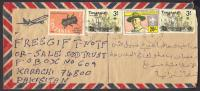 Scouting, Lord Baden Powell, Lions Club, Insect Cocroch, Used Cover From Tanzania 29-4-1988 - Scouting
