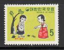 Korea Scott No 664 Unused Hinged Year 1969 - Korea (Süd-)
