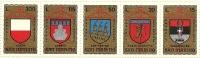 1974 - San Marino 921/25 Torneo Della Balestra - Francobolli
