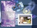 Gu08118a Guinea 2008 Transport Death Of Edward Lorenz S/s Space Butterfly - Space