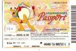 Disney * PASSPORT * Entreecard JAPON * TOKYO DISNEYLAND (564) STOCKHOLDERS Passeport * JAPAN PASS * CINEMA * FILM * - Disney