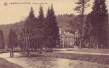 LAVACHERIE S/OURTHE = Château De Ste Ode + Passerelle  (Nels ) écrite - Sainte-Ode