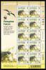 Alderney Scott #145 MNH Minisheet Of 10 38p With Chcks - Peregrine Falcon - Alderney