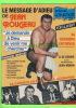REVUES  SPORT LUTTE  - LE MESSAGE D'ADIEU DU LUTTEUR, JEAN (JOHNNY) ROUGEAU - 32 PAGES - ÉDITIONS CHARNAY INC - - Books, Magazines, Comics