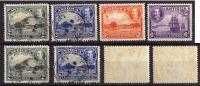 Antigua - 1932 - Y&T N° 67°, 68°, 69*, 70* - 1858-1960 Colonia Britannica