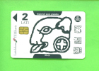 LATVIA - Chip Phonecard As Scan - Latvia