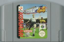 JEU NINTENDO 64 INTERNATIONAL SUPERSTAR SOCCER 64  SANS BOITE NI NOTICE - Nintendo 64