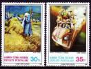 Zypern(Türkisch) 1983 - 125-26 ** / Michel 2008 - Chypre (Turquie)
