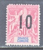 Grande Comoro Islands 28  ** - Great Comoro Island (1897-1912)