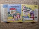 PROTEGE CAHIER - PUBLICITE - SCOLAIRE - PERSAVON - SUPERFORTERESSE B.29 - LA MAISON PERSAVON - - Protège-cahiers