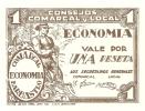 BILLETE DE 1 PTA  DEL CONSEJO COMARCAL DE BARBASTRO (BANKNOTE) - Non Classificati