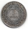 MAROCCO 5 FRANCS 1370 - Marruecos