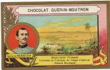Capitaine Baratier Mission Marchand Explorateur Congo Djibouti  Chromo Format 10,5 / 6,5 - Congo Français - Autres