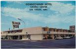 Downtowner Hotel Casino Center Las Vegas Motel  Sixties - Las Vegas