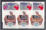 Nr 153/155, 212/214 **, Michel = 21 Euro (XX16313) - Tonga (1970-...)