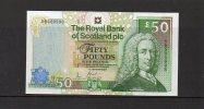 2005 RBS 50 Pounds Gogarburn UNC 09998 - [ 3] Scotland