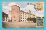LETTONIA RIGA PILS CARTOLINA FORMATO PICCOLO VIAGGIATA NEL 1926 - Lettonia