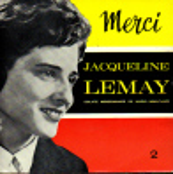 "* 7"" EP *  JACQUELINE LEMAY - MERCI 2 (Holland Ex-!!!) - Religion & Gospel"