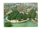 Cp, 74, Annecy, Les Anciens Quartiers Et Le Château, Le Lac Et Les Embarcadères - Annecy