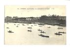 Cp, 78, La Flotille Des Pêcheurs à La Ligne - Poissy