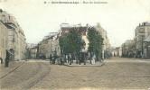 SAINT GERMAIN EN LAYE (78) - PLACE DES COMBATTANTS - BEAU PLAN ANIME ET COLORISE - St. Germain En Laye