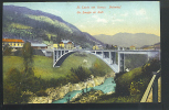 Santa Lucia Sull  Isonzo ( Santa Lucia Ob Soci)stazione-bahnof Cartolina Non Viaggiata Primi 900 - Altre Città