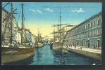 TRIESTE Canal Grande E Chiesa Di S Antonio  Cartolina Non Viaggiata 1915/18 - Trieste