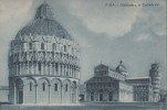 B27027 Pisa Battistero E Cattedrale  Not Used Perfect Shape - Pisa
