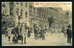 MONS - Fêtes Carnavalesques Du 22 Mars 1914 - Groupe De Jeanne D'Arc - Mons