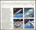STATI UNITI D'AMERICA – UNITED STATES – ETATS-UNIS - 1988 - 20° CONGRESSO UPU - BF (°) - Stati Uniti