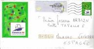 FRANCIA SOBRE ENTERO CON ATM MUNDIAL FÚTBOL 1998 - Coupe Du Monde